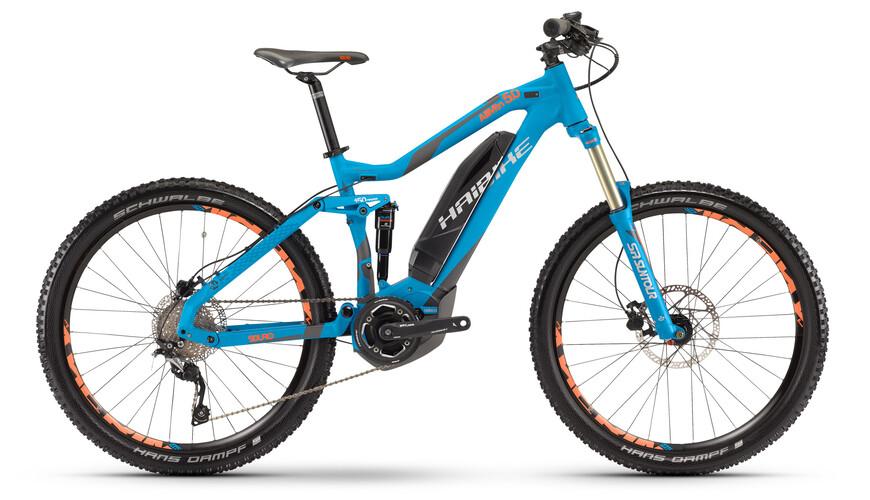 "HAIBIKE Sduro AllMtn 5.0 - Bicicleta eléctrica - 27,5"" azul"